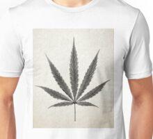 Leaf Print IV (Cannabis) Unisex T-Shirt