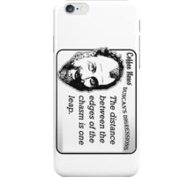 The distance between the edges of the chasm is one leap iPhone Case/Skin