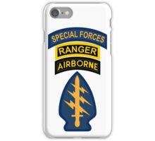 Special Forces Tower of Power iPhone Case/Skin