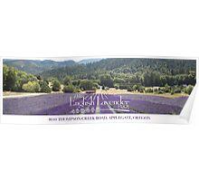 The English Lavender Farm Poster