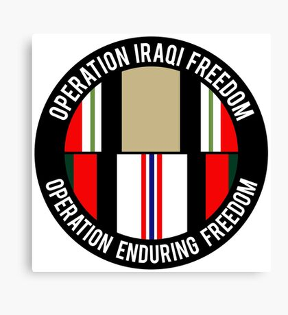OIF - OEF Canvas Print