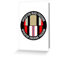 OIF - OEF Greeting Card
