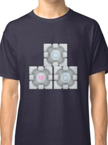Stacked Cubes (Portal 2) Classic T-Shirt