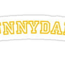 Sunnydale Gym Shirt 1 Sticker