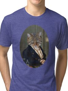 Mr. Kitten  Tri-blend T-Shirt