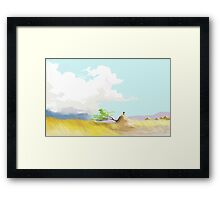 Zambian winds Framed Print