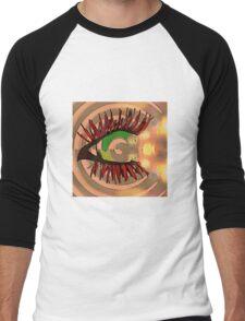 The One with the Hypnotizing Eye  Men's Baseball ¾ T-Shirt