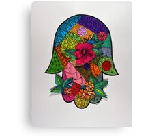 Hamsa/1 - Dimensional Canvas Print