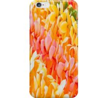 Diagonal Plumeria Leis Twin Bedding iPhone Case/Skin