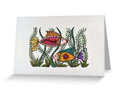 Go Fish!/2 Greeting Card