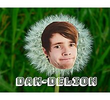 It's a DAN-DELION!! Photographic Print