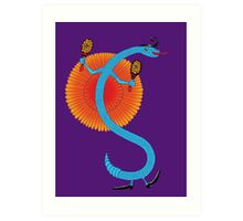 Snake, Rattle and Roll Art Print