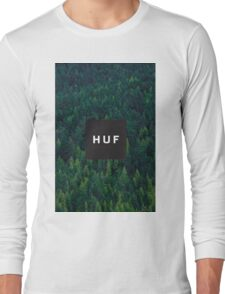 Huf Forest Logo Long Sleeve T-Shirt