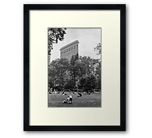 Madison Park Film Photograph Framed Print