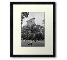 Madison Park Film Photograph Framed Print