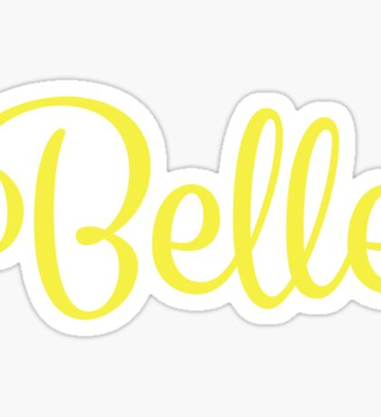 Belle Sticker