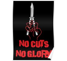 No Cuts No Glory Poster