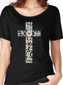 Daisy Cross Women's Relaxed Fit T-Shirt