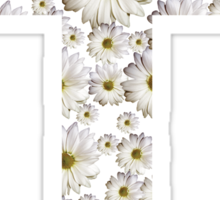 Daisy Cross Sticker