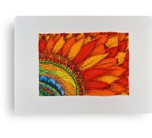 Flowers/3 - Sunflower Canvas Print