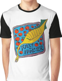 Tully Monster Illinois State Fossil Graphic T-Shirt