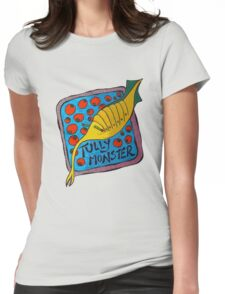 Tully Monster Illinois State Fossil Womens Fitted T-Shirt