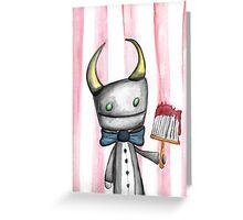 Devil's Work Greeting Card