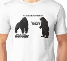 Harambe & Pedals Unisex T-Shirt