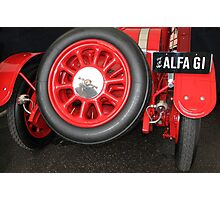 Alfa Romeo G1, 1921, Rear End  Photographic Print