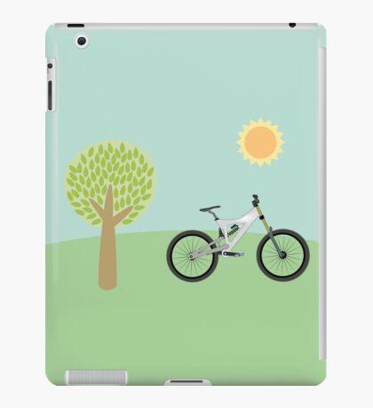 Downhill mountainbike iPad Case/Skin