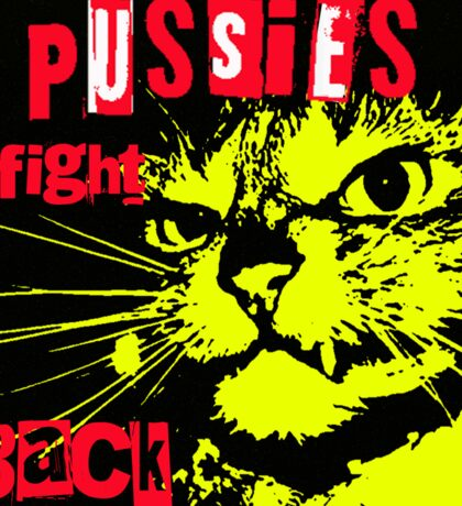 Pussy FIGHTS Back Sticker