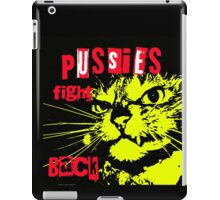 Pussy FIGHTS Back iPad Case/Skin