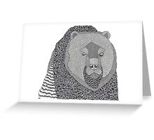 Where Bear Greeting Card