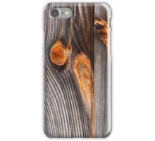 Weathered Wood Siding iPhone Case/Skin