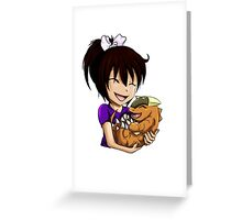 I will always be your friend Greeting Card