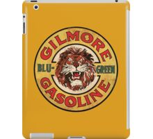 Blu-Green Gilmore Gasoline iPad Case/Skin