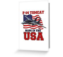F-14 Tomcat Made in the USA Greeting Card