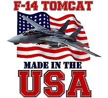 F-14 Tomcat Made in the USA Photographic Print