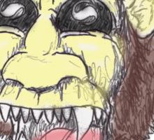 Shroom-head Ape-man Sticker