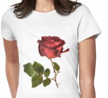 Rose and Thorns Womens Fitted T-Shirt