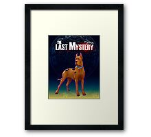 Scooby (The Last Mystery) Framed Print