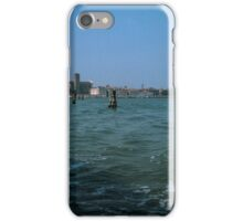 Nearing Murano On Ferry to Torcello Venice Italy 19840730 0007M  iPhone Case/Skin