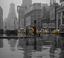 Yellow Cabs New York by AndrewFare