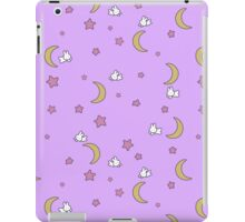 Sailor Moon inspired Bunny of the Moon Bedspread Blanket Print iPad Case/Skin