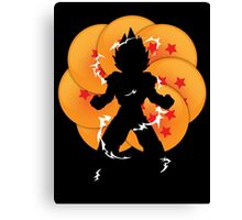 Saiyan Power Canvas Print