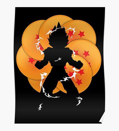 Saiyan Power Poster