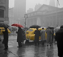 Yellow Cabs New York 3 by AndrewFare