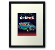 The Mystery Machine (The Last Mystery) Framed Print