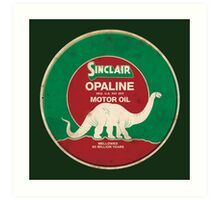 Sinclair Opaline Motor Oil Art Print