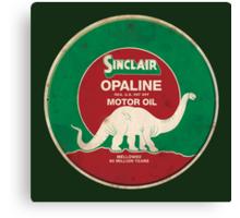 Sinclair Opaline Motor Oil Canvas Print